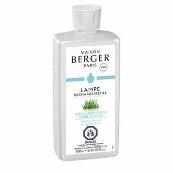 Fresh Green Grass - Lampe Maison Berger Fragrance - 500Ml
