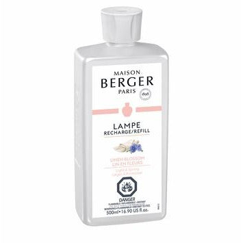 Linen Blossom - Lampe Maison Berger Fragrance - 500Ml