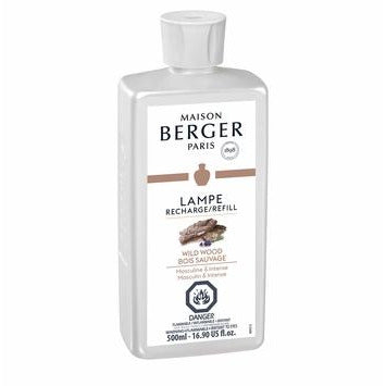 Wild Wood Lampe Maison Berger Fragrance - 500 Ml