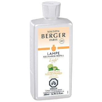 Lemon Flower Light - Lampe Maison Berger Fragrance - 500Ml