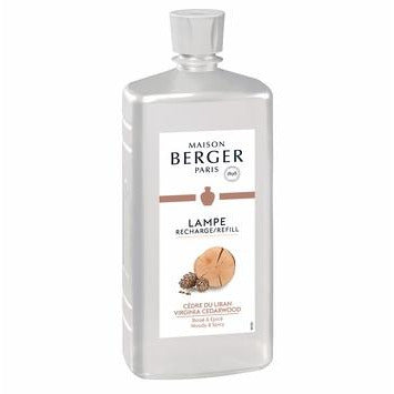 Virginia Cedarwood - Lampe Maison Berger Fragrance - 1 Litre