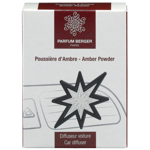 Amber Powder Retired Car Fragrance Clip - SALE