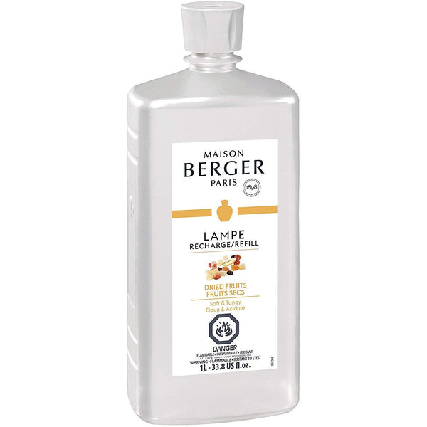 Dried Fruits Lampe Fragrance by Maison Berger - 1 Litre -SALE