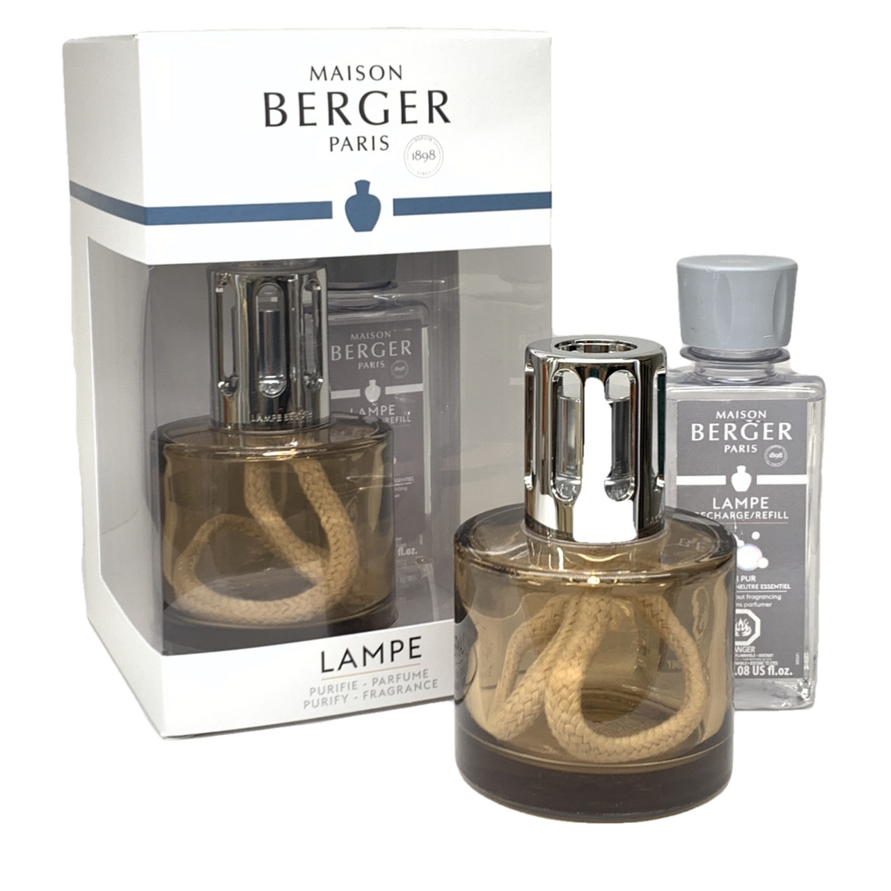 PURE Chestnut Lampe Limited Edition Gift Set By Maison Berger - SALE