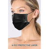 Black Surgical Style Mask - Pack of 20 - SALE
