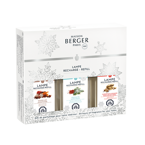 Trio Pack of Winter Scents 2019 by Maison Berger