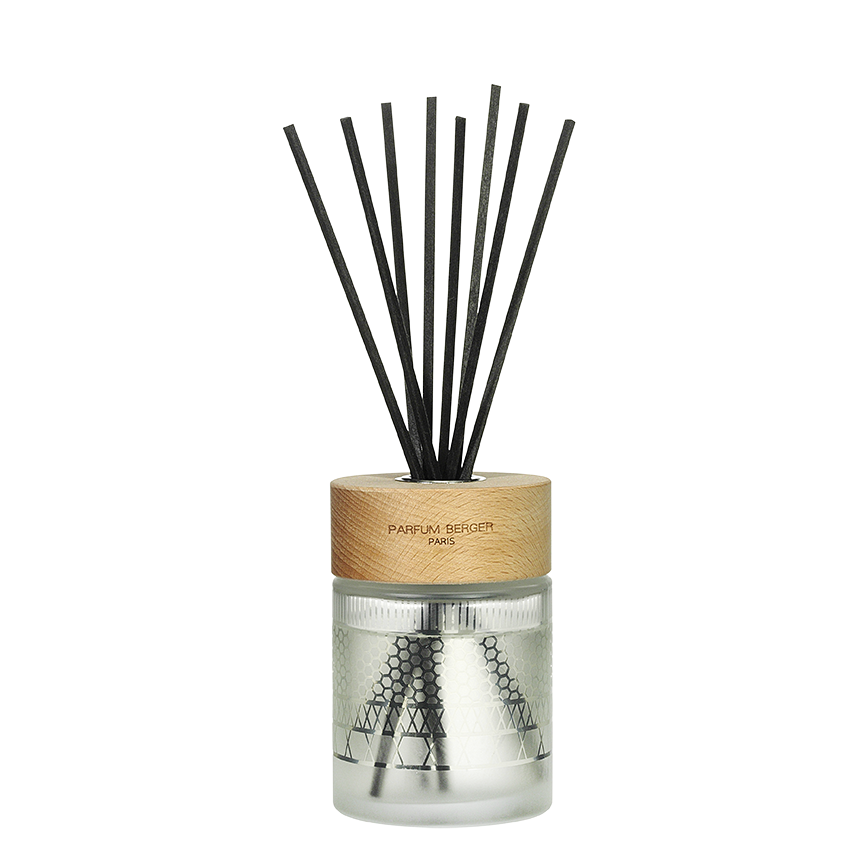 ICONIC Frosted Diffuser with 180 Ml Zest of Verbena by Parfum Berger