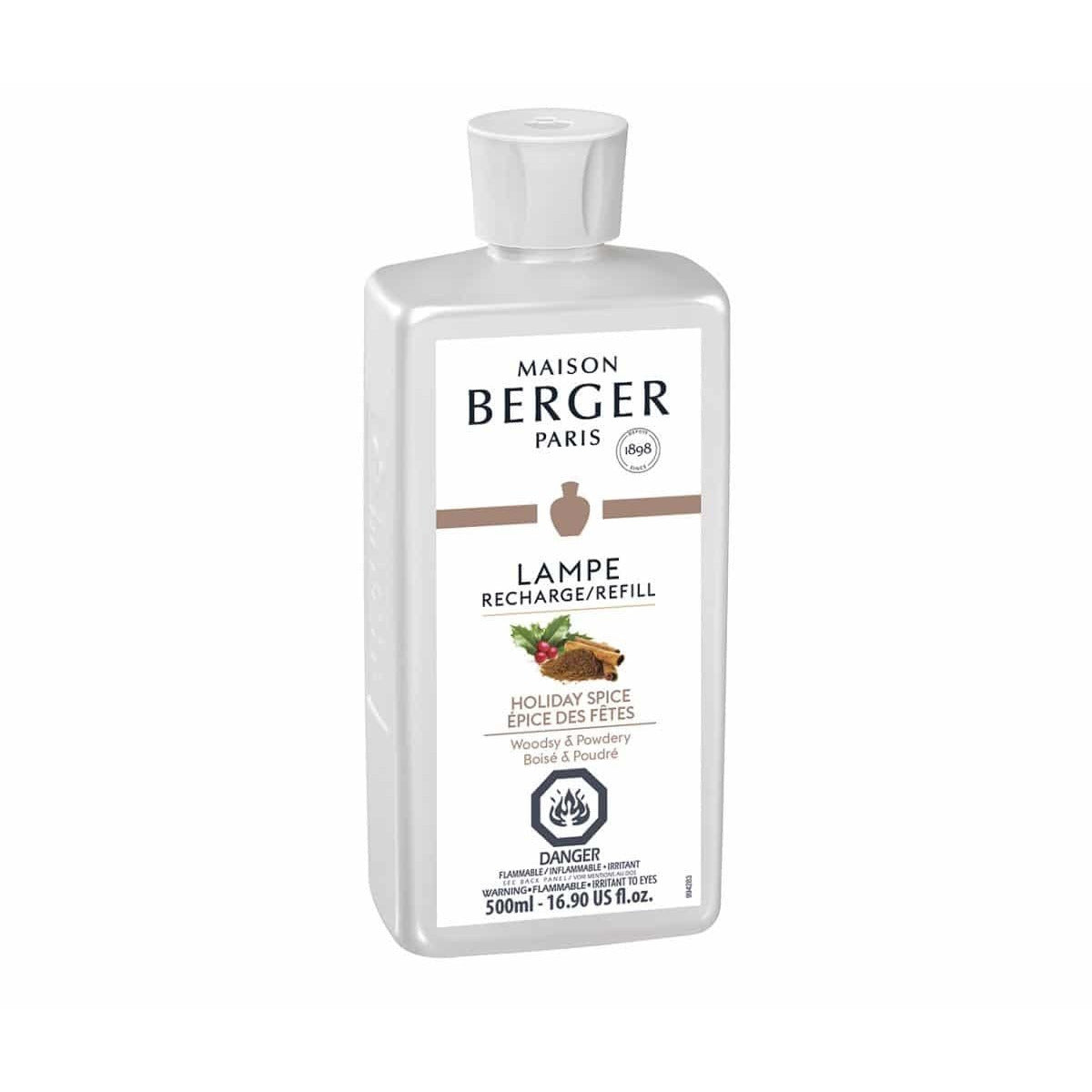 Holiday Spice - Lampe Maison Berger Fragrance - 500 Ml - SALE