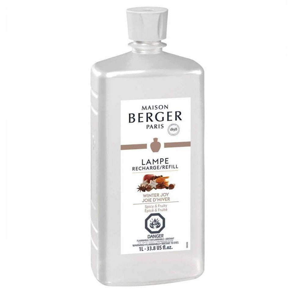 Winter Joy - Lampe Maison Berger Fragrance - 1 Litre