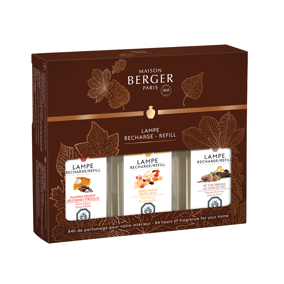 Trio Pack of Autumn Scents by Maison Berger - SALE