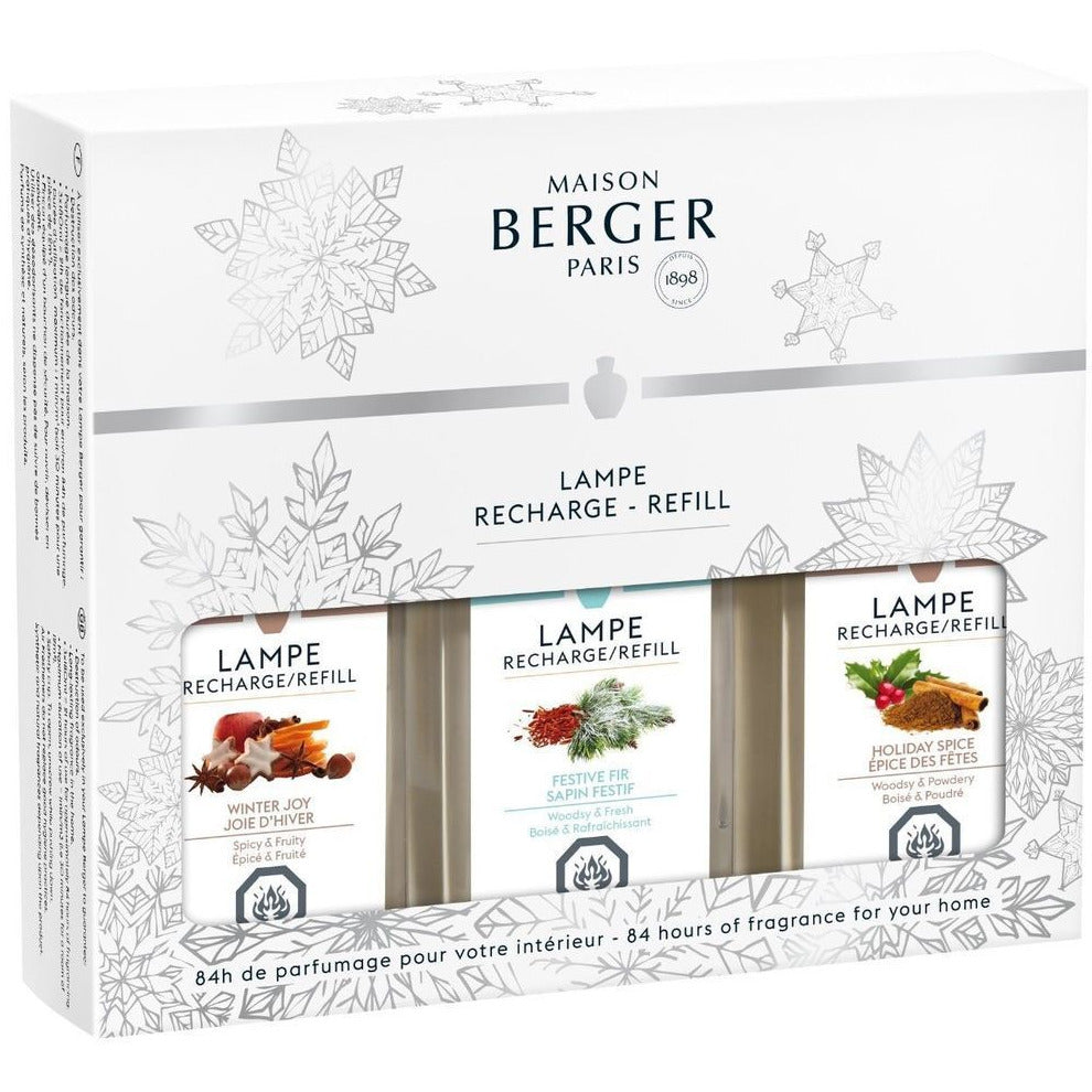 Trio Pack of Winter Scents by Maison Berger - SALE