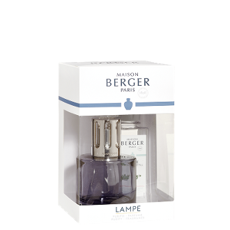 PURE Grey Lampe Gift Set By Maison Berger