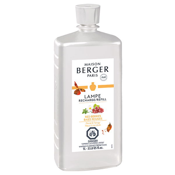 Red Berries - Lampe Maison Berger Fragrance - 1 Litre
