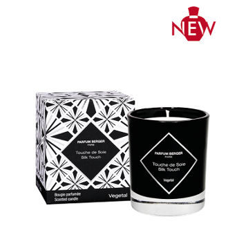 Silk Touch Graphic Candle by Maison Berger