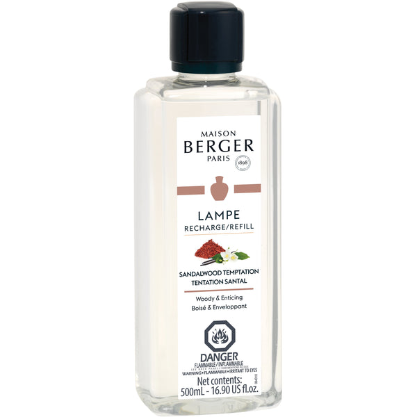 Sandalwood Temptation - Lampe Maison Berger Fragrance - 500Ml