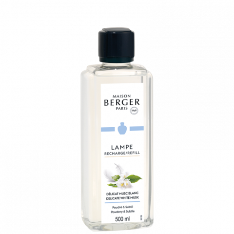 Delicate White Musk - Lampe Maison Berger Fragrance - 500 Ml