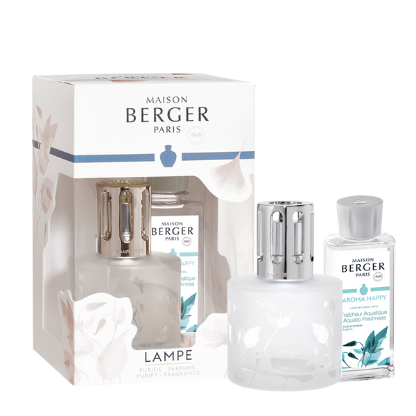 Aroma Happy Aquatic Freshness - Lampe Gift Set by Maison Berger