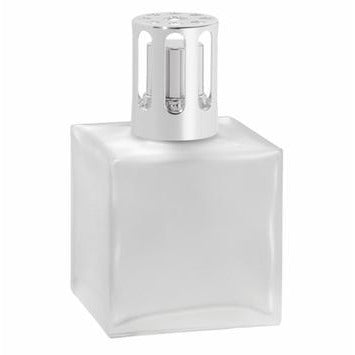 CUBE Frosted Lampe Gift Set By Maison Berger