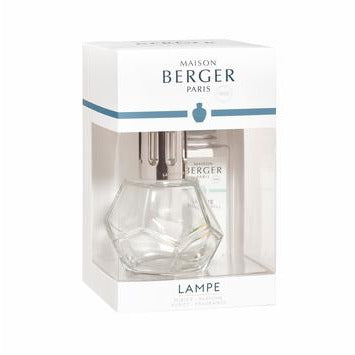 GEOMETRY Clear Lampe Gift Set By Maison Berger