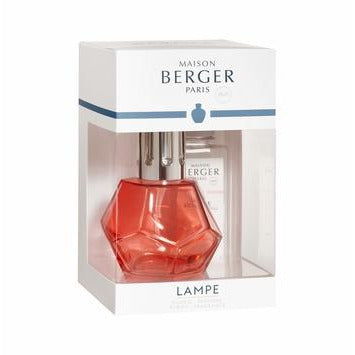 GEOMETRY Red Lampe Gift Set By Maison Berger