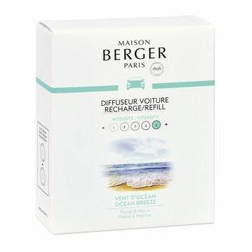 Parfum Berger Car Disc Replacement Fragrances (Choose Your Scent)