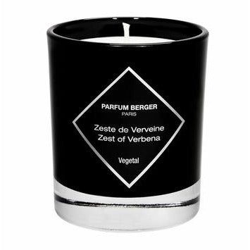 Zest of Verbena Graphic Candle by Maison Berger