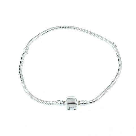 Versatile & Very Stylish Silver Snake Bracelet. We REALLY Love These! Hope YOU WILL TOO.