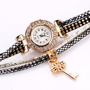 Women's Multi-Layered Wrap Wrist Watch, Several Embellishments.  Offered by Elite Web Store.