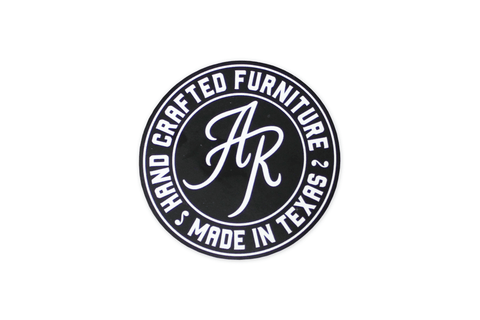 Andy Rawls Handcrafted Furniture Sticker