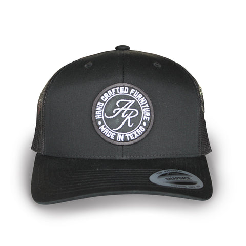 Andy Rawls Black on Black Trucker style hat