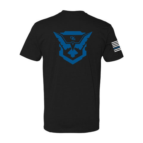 Back The Blue Demolitia T-shirt
