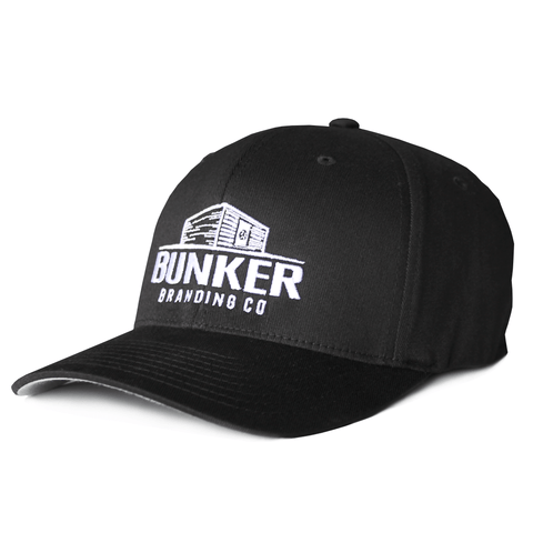 Black Bunker Hat flex fit