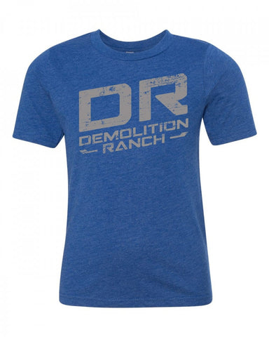 Demo Ranch DR Blue Youth T-shirt