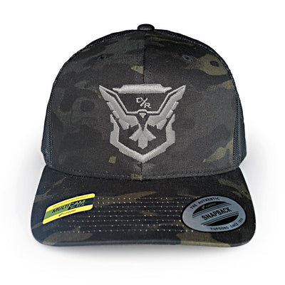 c8f3adb4 Demo Eagle Emblem Multicam Trucker Hat