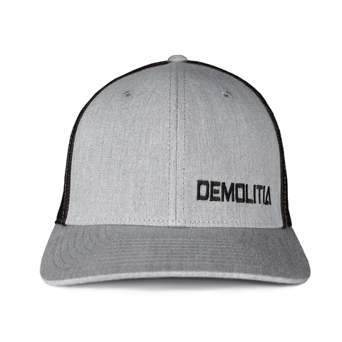 Demolitia Grey R-Flex Richardson Hat