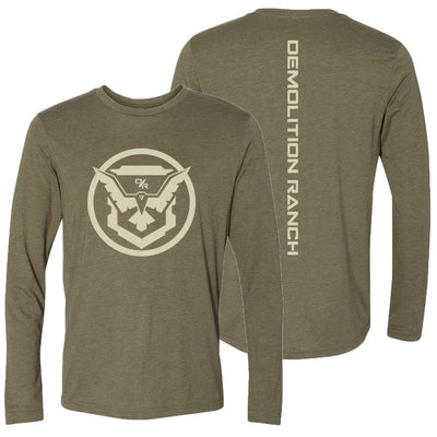 e92f5f4a Military Green Demolition Ranch Long Sleeve Shirt