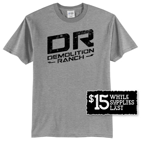 Demolition Ranch Tee Black Graphics