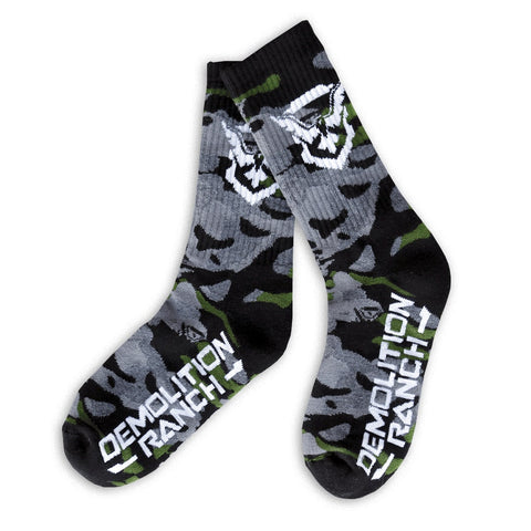 Demolition Ranch Camo Socks
