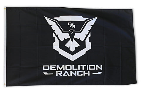 Demolition Ranch Flag Horizontal Image