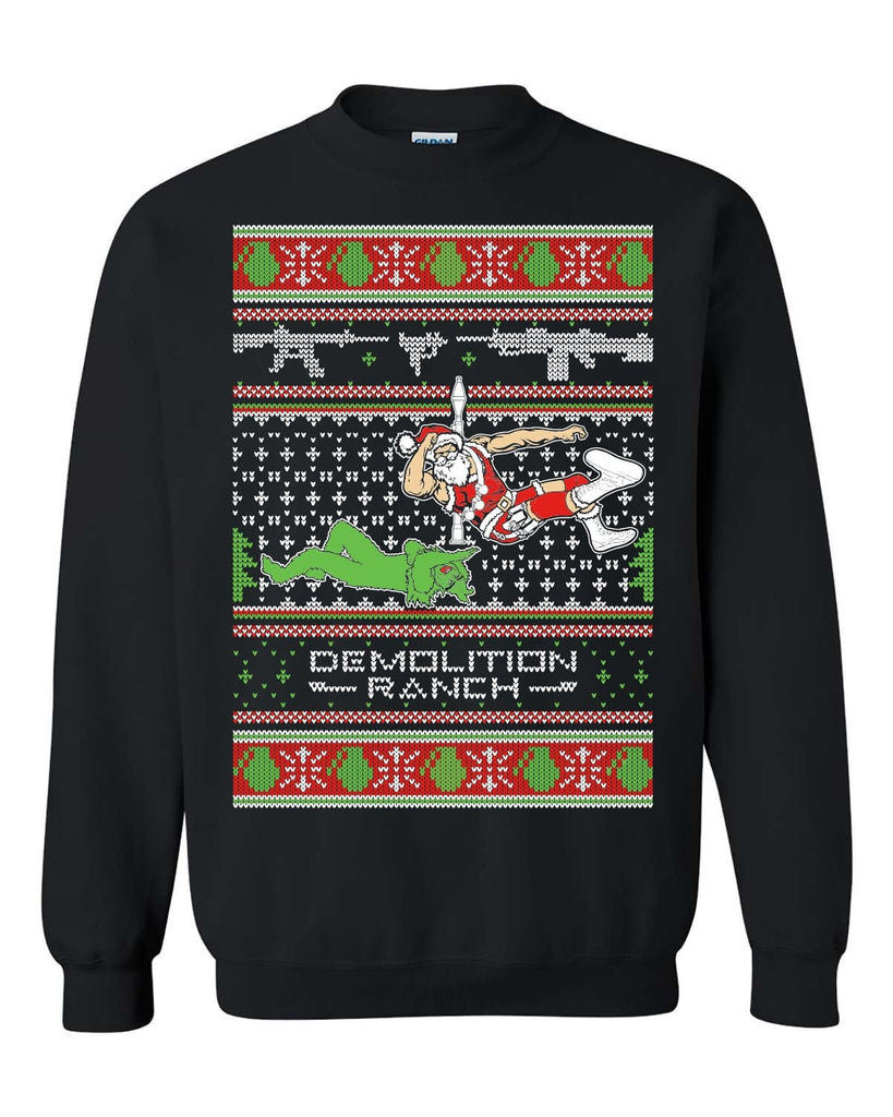 Demolition Ranch Christmas Sweatshirt