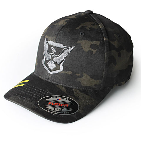 Demolition Ranch silver eagle Multicam Flex Fit
