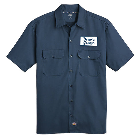 Demolition Wrench FLEX Short-Sleeve Twill Work Shirt