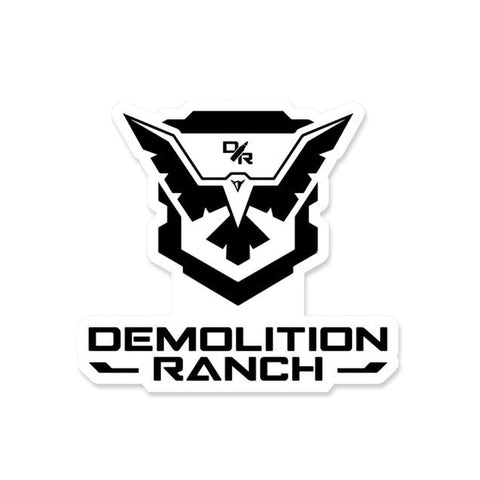 Demolition Ranch Logo Sticker