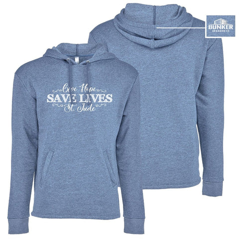 The Give Hope, Save Lives, St. Jude Women's Hoodie