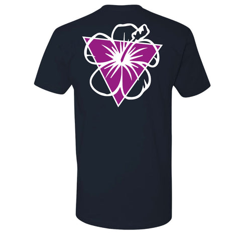 Blank Canvas Purple Hibiscus T-Shirt