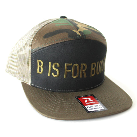 B is for Build Trucker Hat