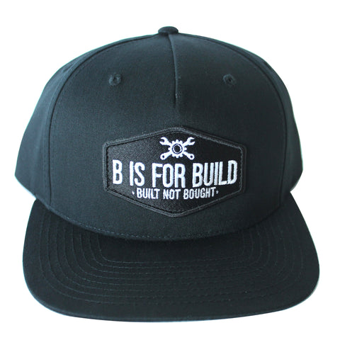 BIFB-Black Patch Hat