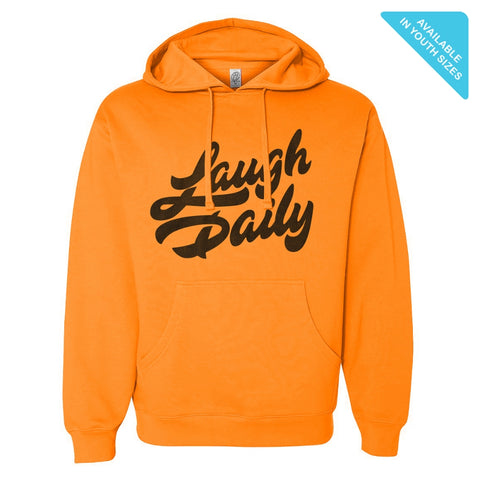 Neon Laugh Daily Hoodie