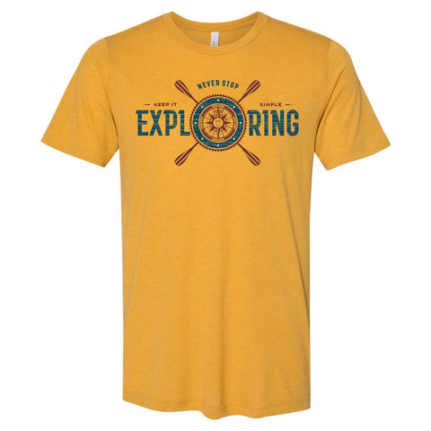 Joe robinet Never Stop Exploring Shirt