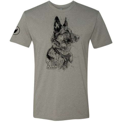 Joe Robinet's dog Scout shirt